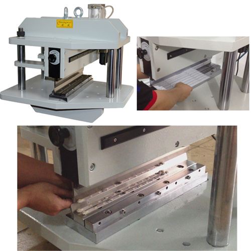 硬灯条铡刀式分板机