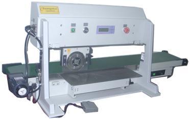 电动滑轨型走刀式分板机(装送料传送带的)CWV-2A