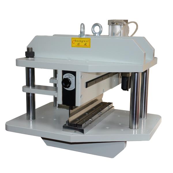 长硬厚铝基板专用铡刀气动式分板机,CWVC-450